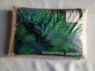 pellet Binder Holz