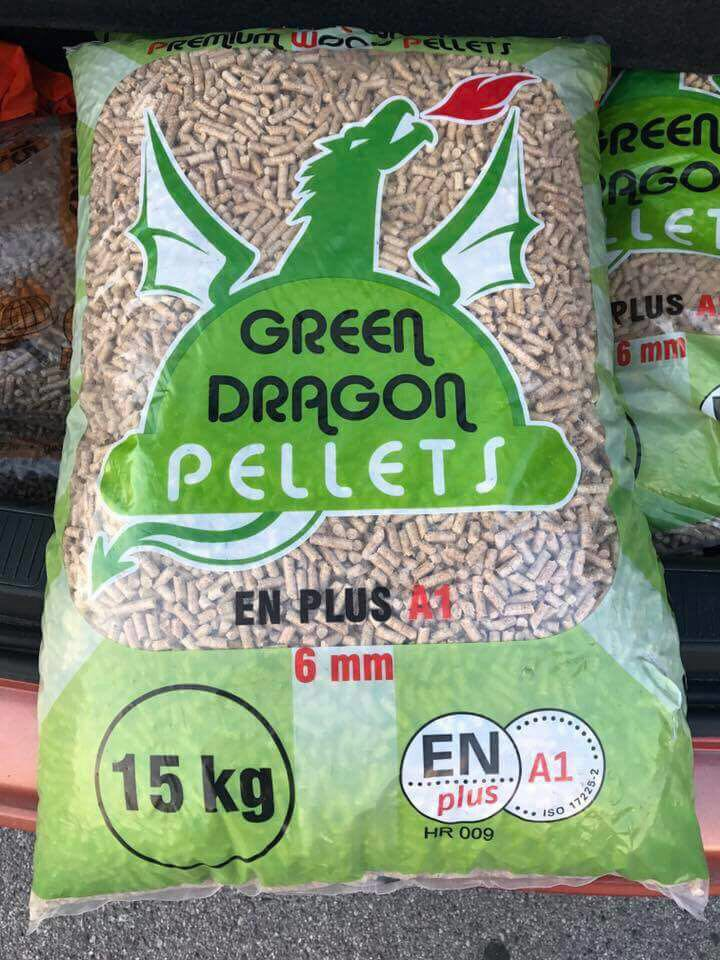 Pellet Green Dragon  € 4,25